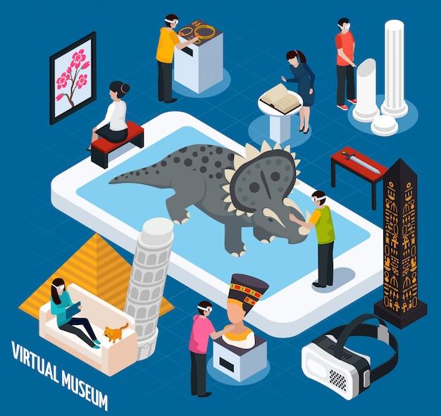 Museo de monumentos virtuales de viajes