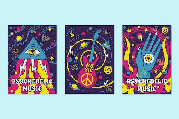 La música psicodélica cubre el estilo de los años 60 y 70