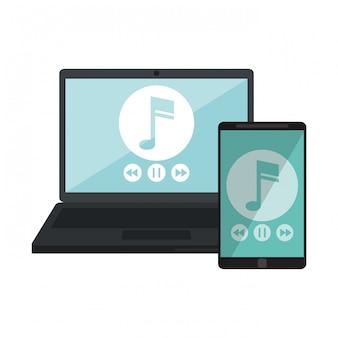 Música y smartphone
