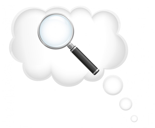 Ñ búsqueda oncept para ideas vector illustration