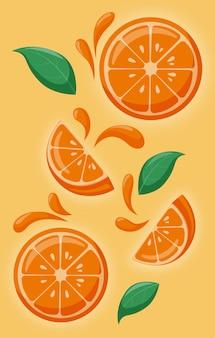 Naranjas suaves