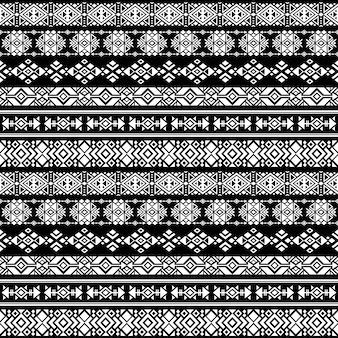 Natividad americana azteca, vector tribal