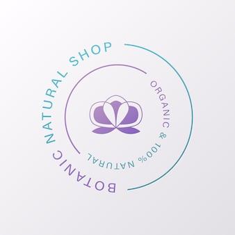 Natural y orgánico para la marca y la identidad corporativa.