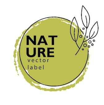 Naturaleza y botánica hierbas y alternativa orgánica.