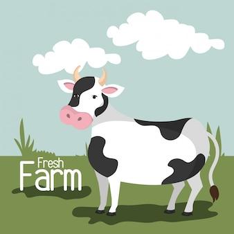 Naturaleza de la granja y estilo de vida