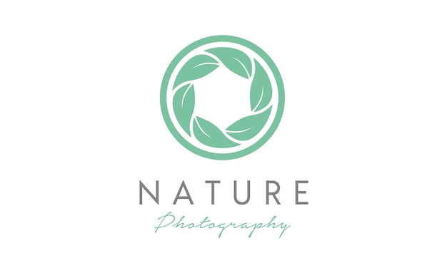 Nature photographer logo design inspiration