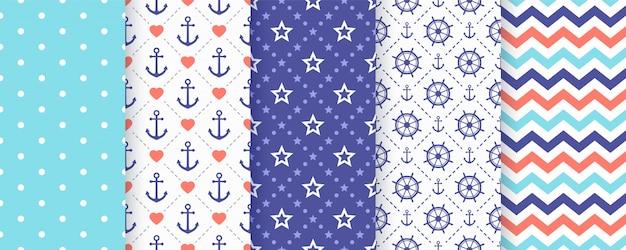 Náutico, marino de patrones sin fisuras.