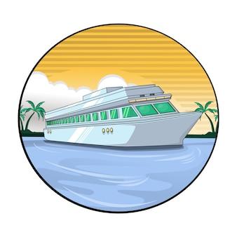 Nave de transporte de viaje