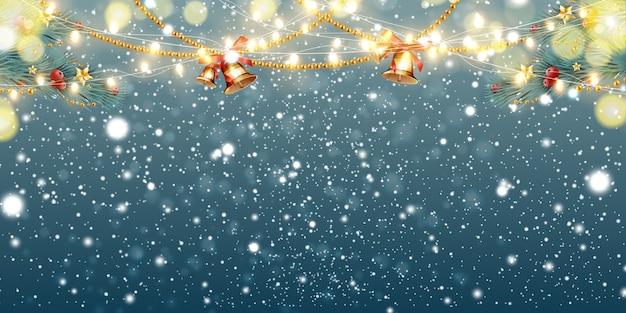 Navidad abstracta