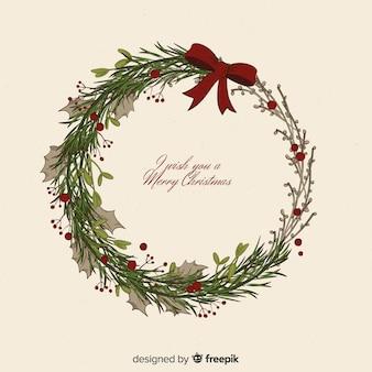 Navidad y año nuevo de fondo