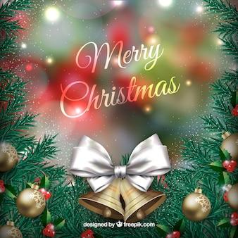 Navidad de fondo para su diseño