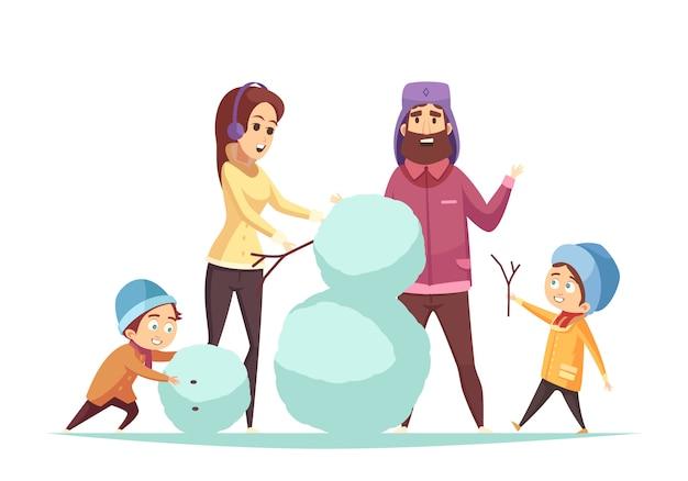 Navidad de dibujos animados