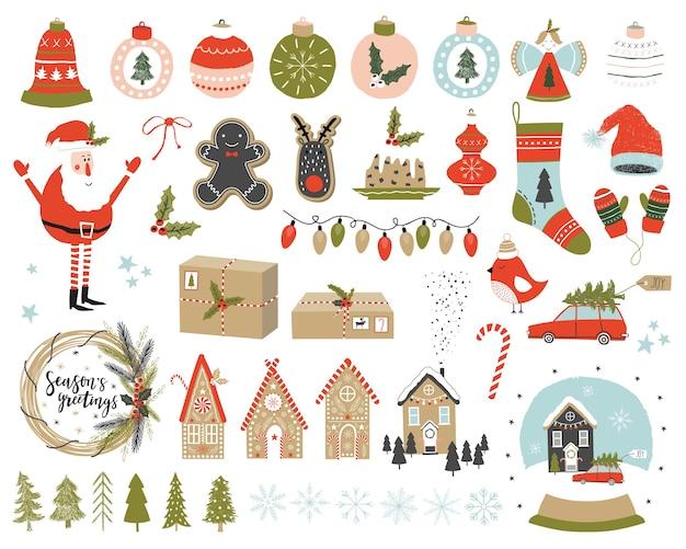 Navidad con elementos.