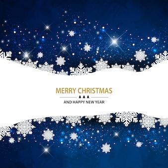 Navidad fondo estrellado brillante