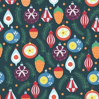 Navidad de patrones sin fisuras