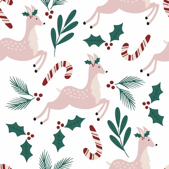Navidad de patrones sin fisuras.