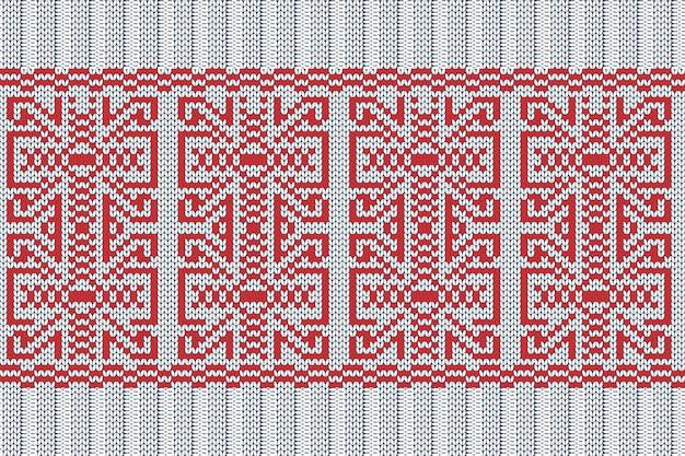 Navidad, vacaciones de invierno tejido de patrones sin fisuras para cuadros, diseño de suéter.
