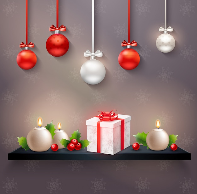 Navidad, vector, ilustración