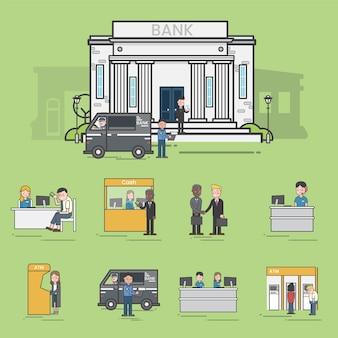 Negocio banco saldo dinero efectivo retiro