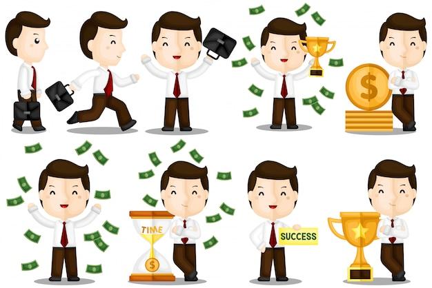Negocio exitoso hace dinero