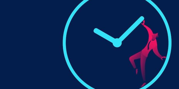 Negocio de gestión de plazos, plazos y plazos