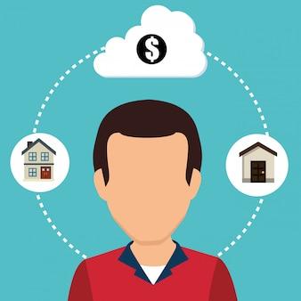 Negocio inmobiliario y ganancias