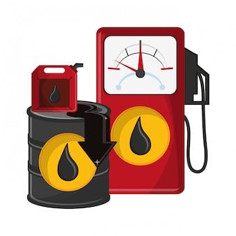Negocio de petroleo y petroleo