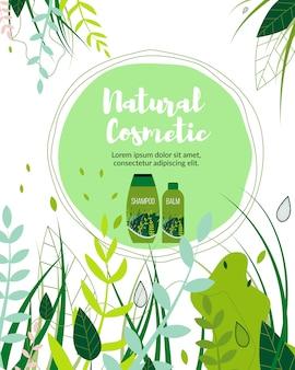 Negocio de productos orgánicos cosméticos herbales naturales.