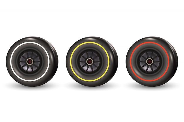 Neumático de coche de carreras