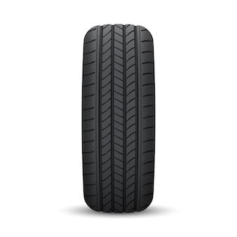 Neumático de rueda de coche realista