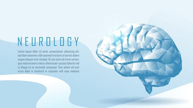 Neurología con texto de muestra