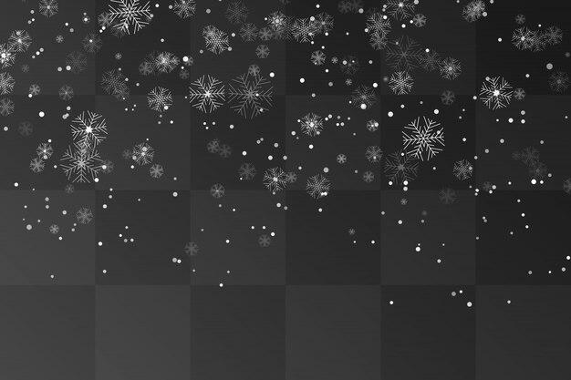 Nevada. fondo de nieve cayendo navidad