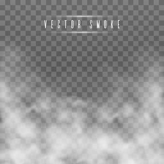 Niebla transparente efecto especial.