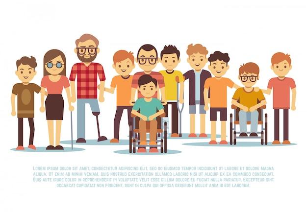 Niño discapacitado