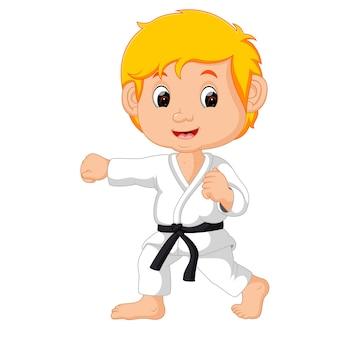 Niño del karate