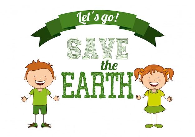 Niños ecologicos
