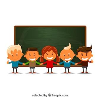 Los niños en la escuela