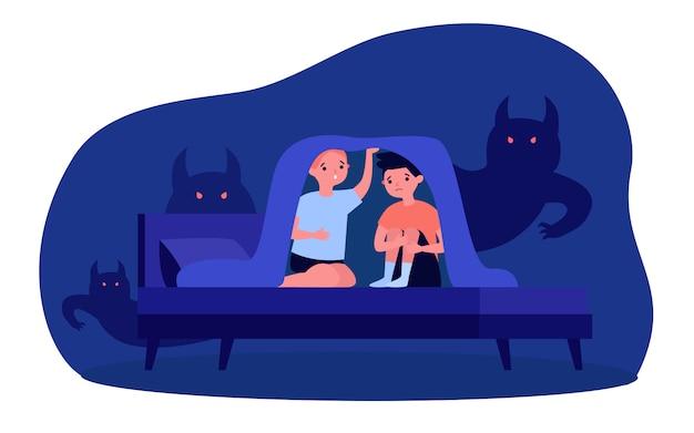 Niños pesadillas y miedos.
