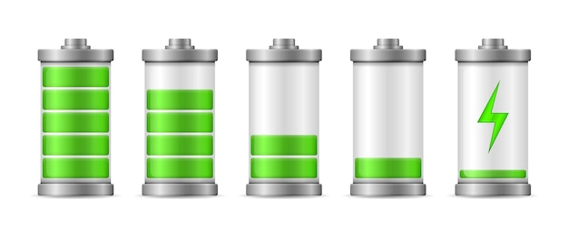 Nivel de energía de carga completa de la batería