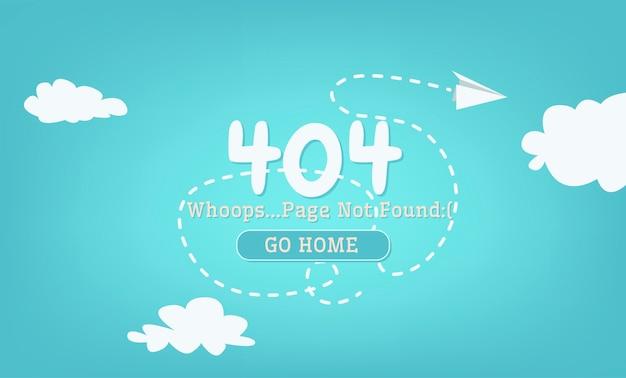 No se encontró la página 404 de rotura