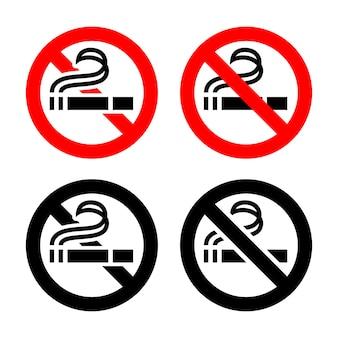 No fumar, símbolos