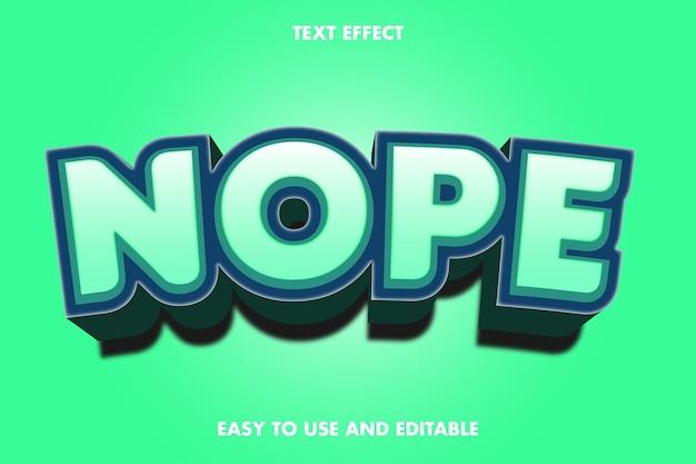 No hay efecto de texto. fácil de usar y editable.