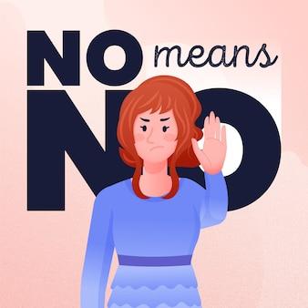 No significa que no hay concepto de ilustración
