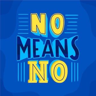 No significa que no haya diseño de letras