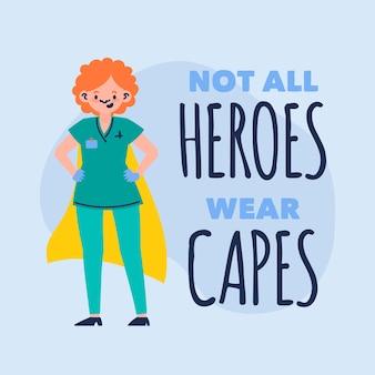 No todos los héroes usan capas