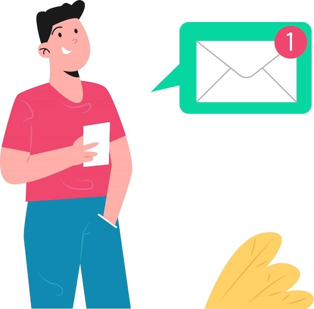 Notificación de mensajes