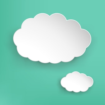 Nube de papel
