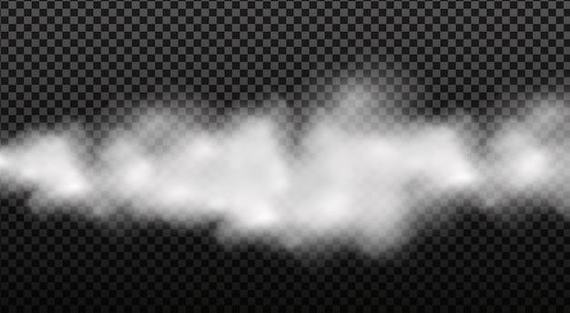 Nubosidad blanca, niebla o humo