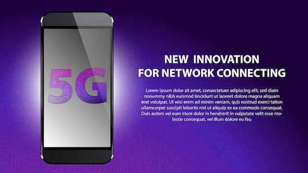 Nueva innovación 5g para la conexión de red