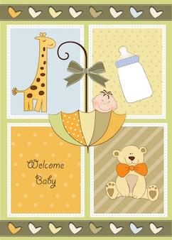 Nueva invitación de baby shower
